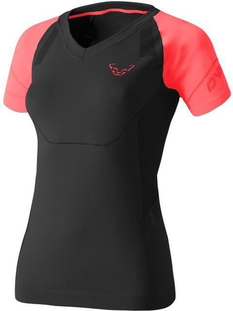Dynafit Alpine S-Tech - Camiseta Running Mujer - rosa/negro